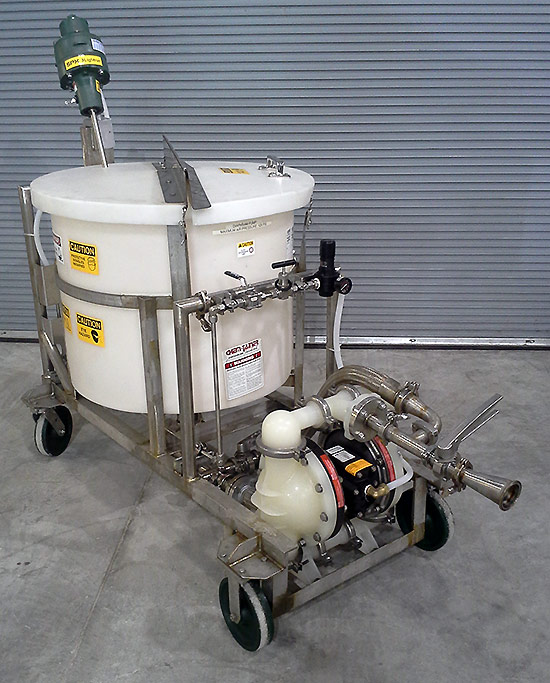 Brine Cart with Pump and Agitator